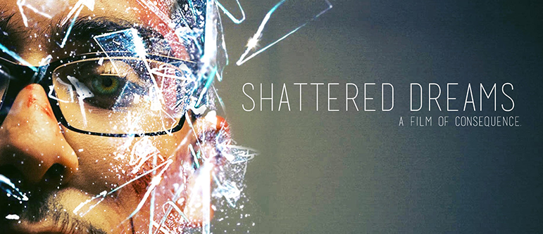 Shattered Dreams home page banner