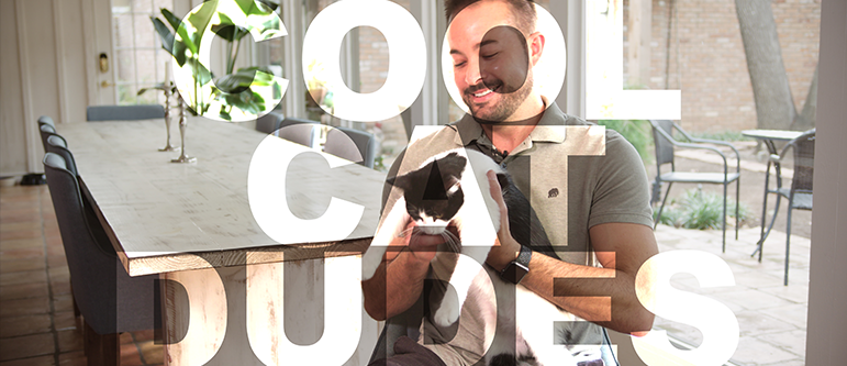 Cool Cat Dudes homepage banner