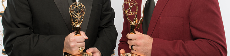 Emmy award int banner